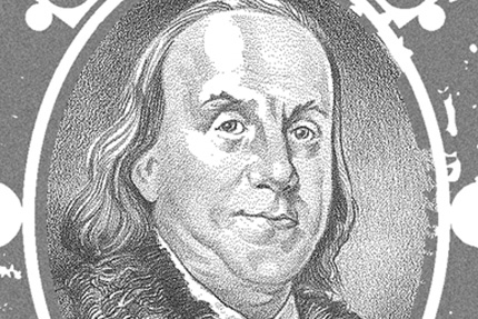Ben-Franklin-Stamp